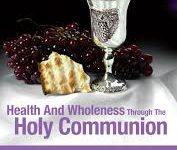 Health Wholeness Holy Communion book